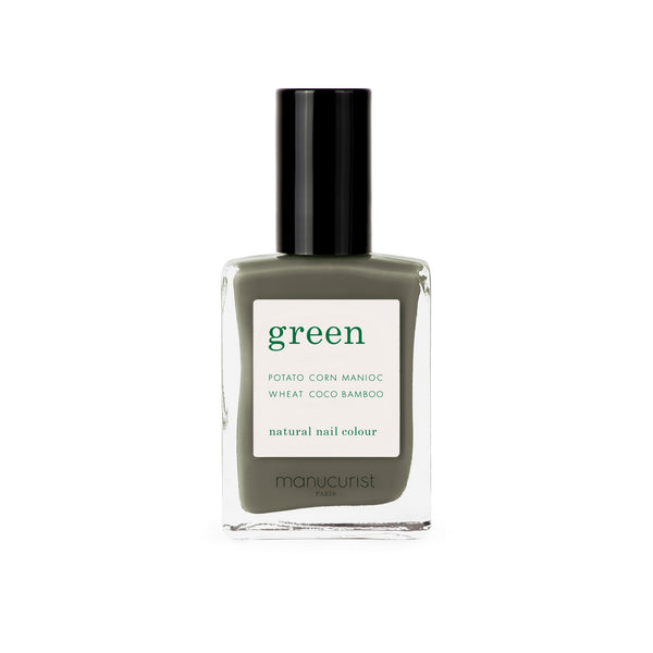 Manucurist Green Nail Polish in Khaki