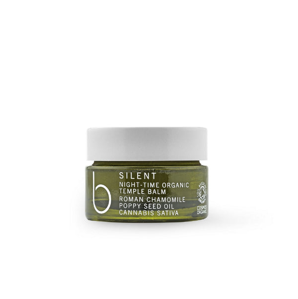 B Silent Night-Time Organic Temple Balm 15ml