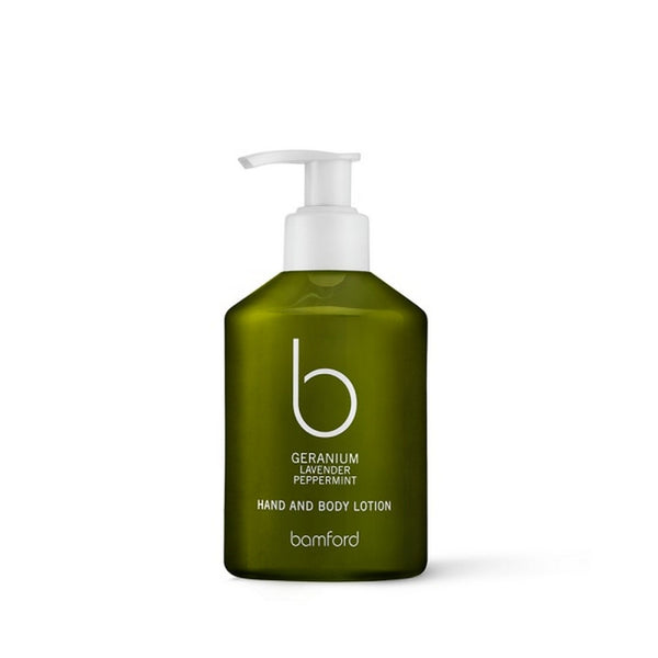 Bamford Geranium Hand and Body Lotion
