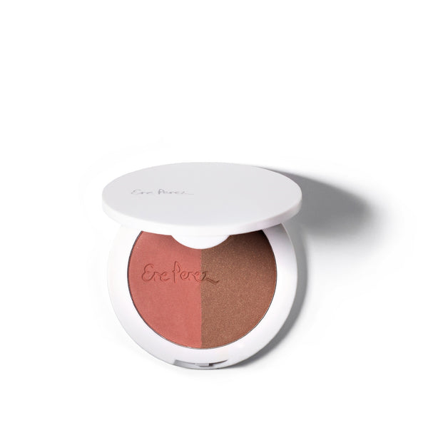 Ere Perez Rice Powder Blush & Bronzer - Brooklyn