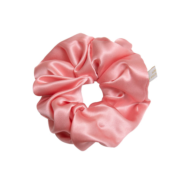 Pure Mulberry Silk Hair Scrunchie in Rose