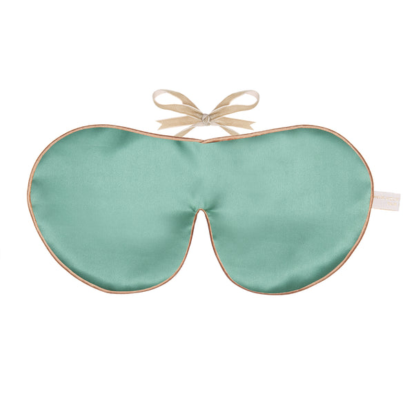 Holistic Silk Mulberry Silk Anti-Age Eye Mask in Jade