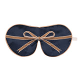 Anti-Age Mulberry Silk Eye Mask with Lavender & Velvet Ties - Filigree