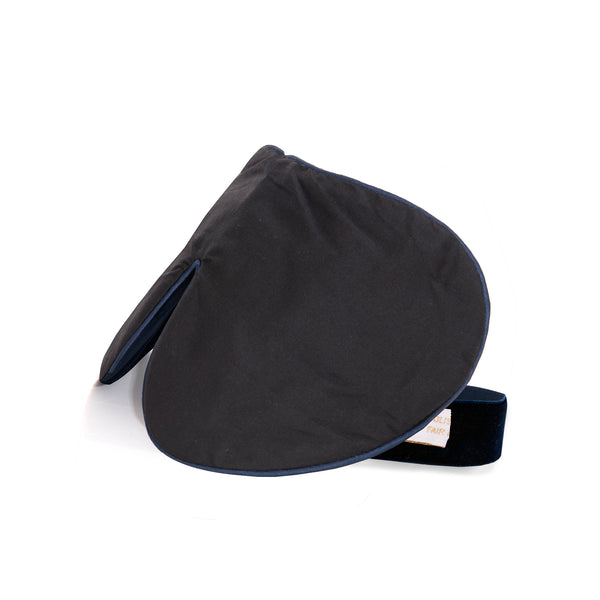 Holistic Silk Black One Strap Eye Mask