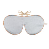 Anti-Age Mulberry Silk Eye Mask with Lavender & Velvet Ties - Various Colours