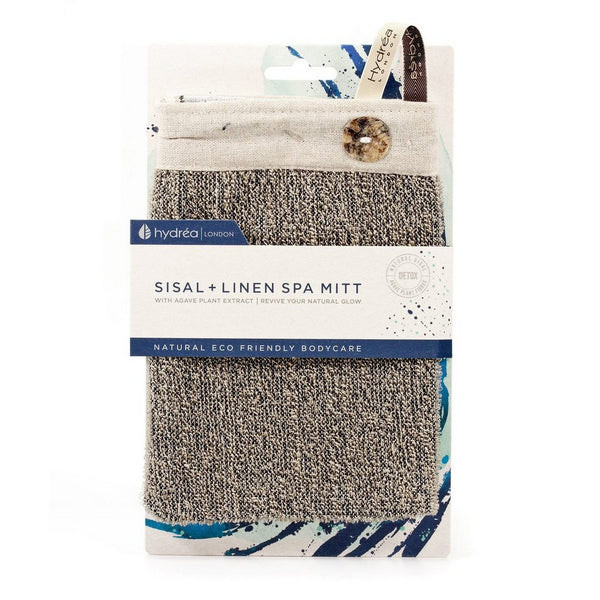 Sisal and Linen Exfoliating Mitt