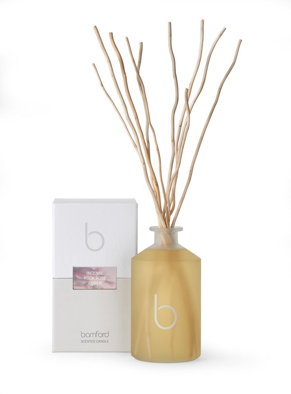 Bamford Incense - Rock Rose, Amber Willow Diffuser 500ml