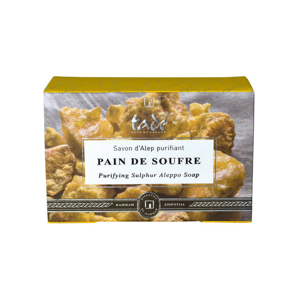 Pain de Soufre Purifying Sulphur Aleppo Soap 150g