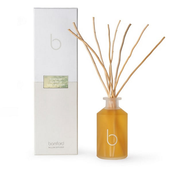 Bamford Rosemary - Geranium - Sicilian Lemon Willow Reed Diffuser 250ml