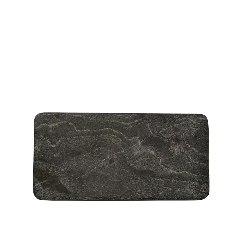 Grey Slate Rectangular Plate 25x13cm