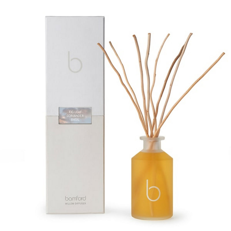 Bamford Fig Leaf - Coriander - Basil Willow Reed Diffuser 250ml