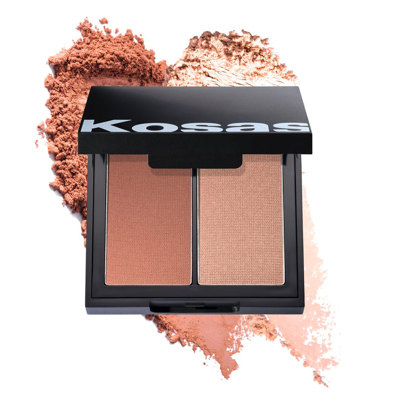 Kosas Colour + Light Pressed Blush Palette - Contrachroma