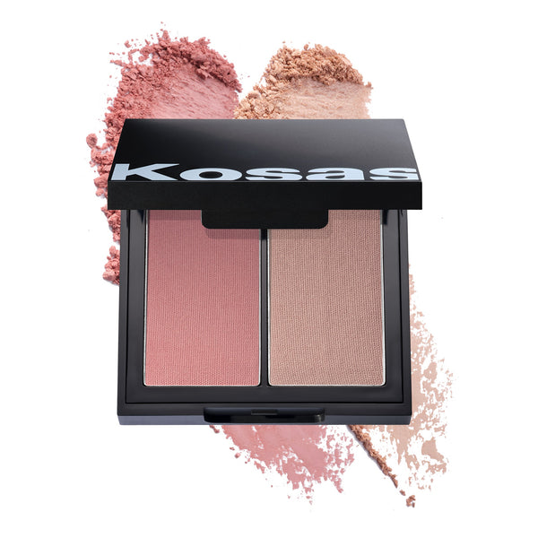 Kosas Colour + Light Pressed Blush Palette - Longitude Zero