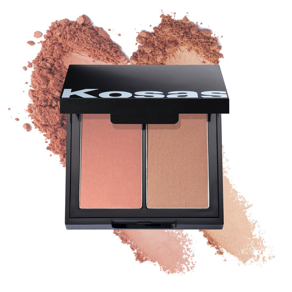 Kosas Colour + Light Pressed Blush Palette - Papaya