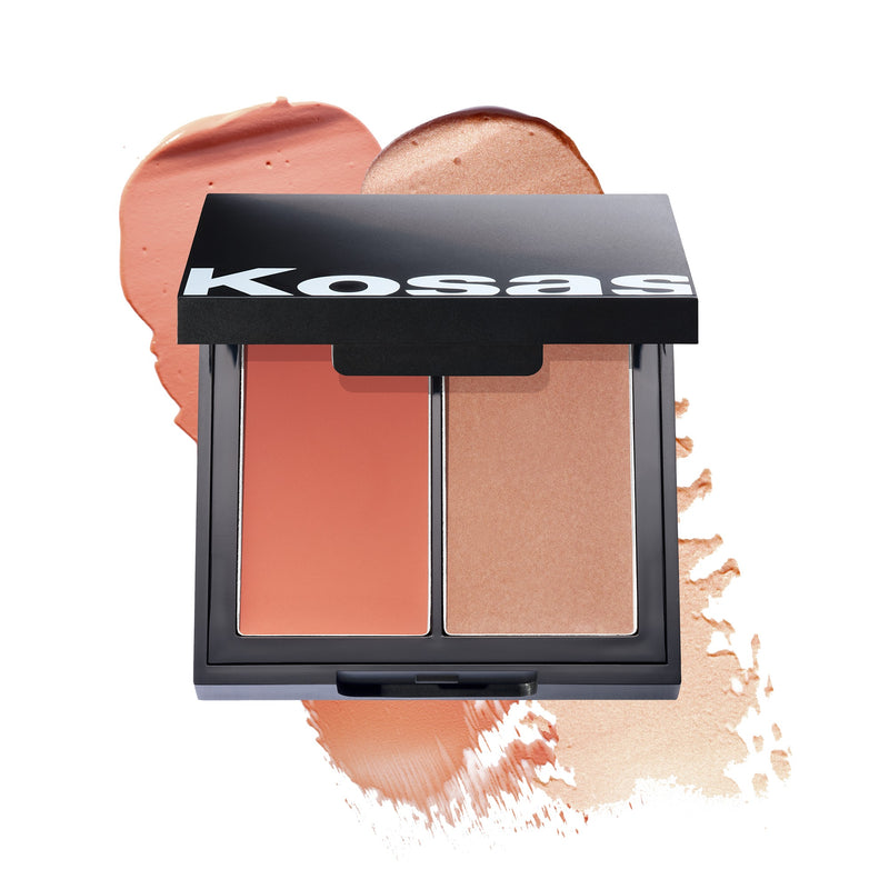 Kosas Colour + Light Cream Blush Palette Velvet Melon