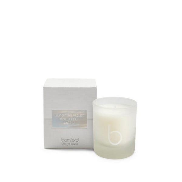 Bamford Lily of the Valley - Violet Leaf - Amber Scented Candle 140g