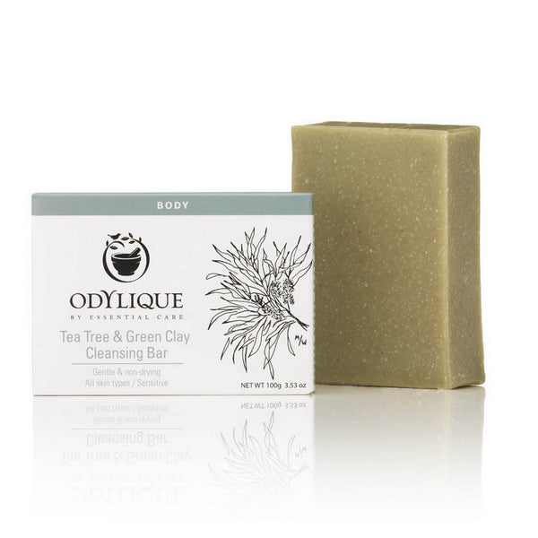 Tea Tree and Green Clay Cleansing Bar 100g