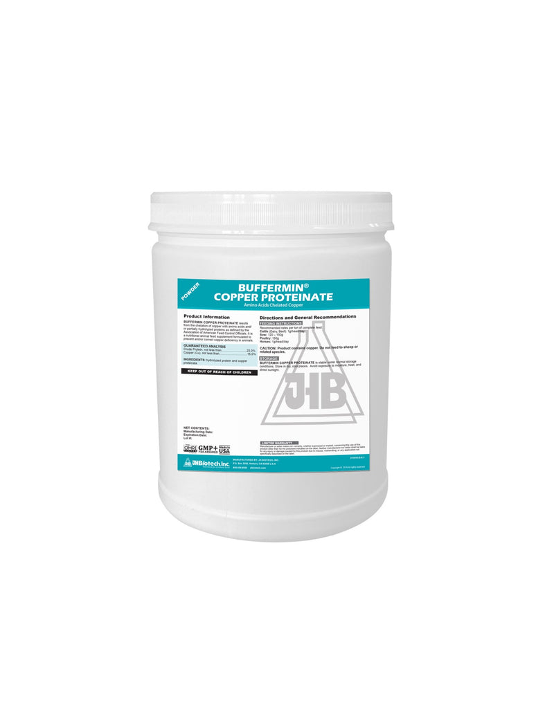 Buffermin® Copper Proteinate 15% | Amino Acids Chelated Copper
