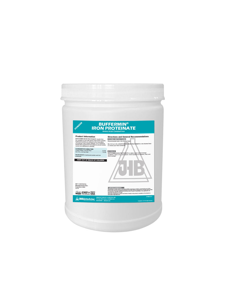 Buffermin® Iron Proteinate 15% | Amino Acids Chelated Iron