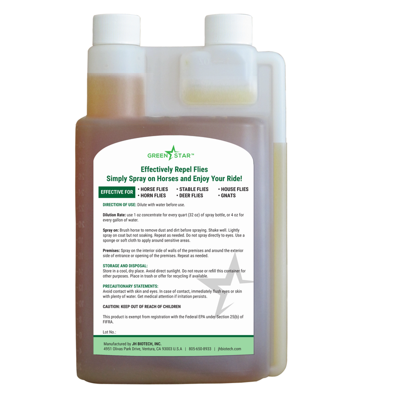 Calm Ride™ – Concentrate | Equine Fly Spray