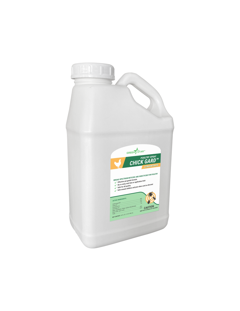 Chick Gard® – Concentrated | Broad Spectrum Insecticide and Miticide