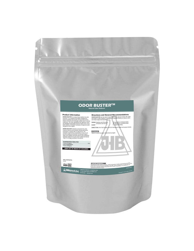 Odor Buster Powder | Natural Odor Reducer