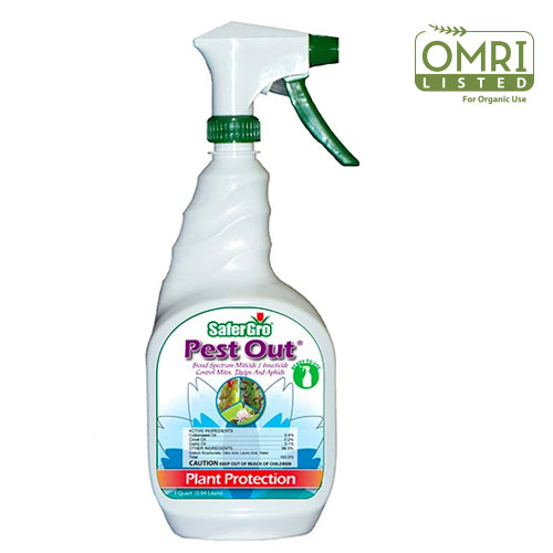 Pest Out® Ready-to-Use Bottle | Broad Spectrum Miticide and Insecticide