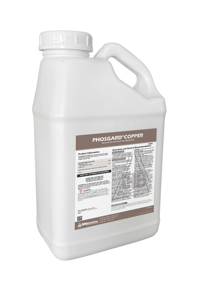 Phosgard® Copper | Plant Nutrients for Soil and Foliar Application