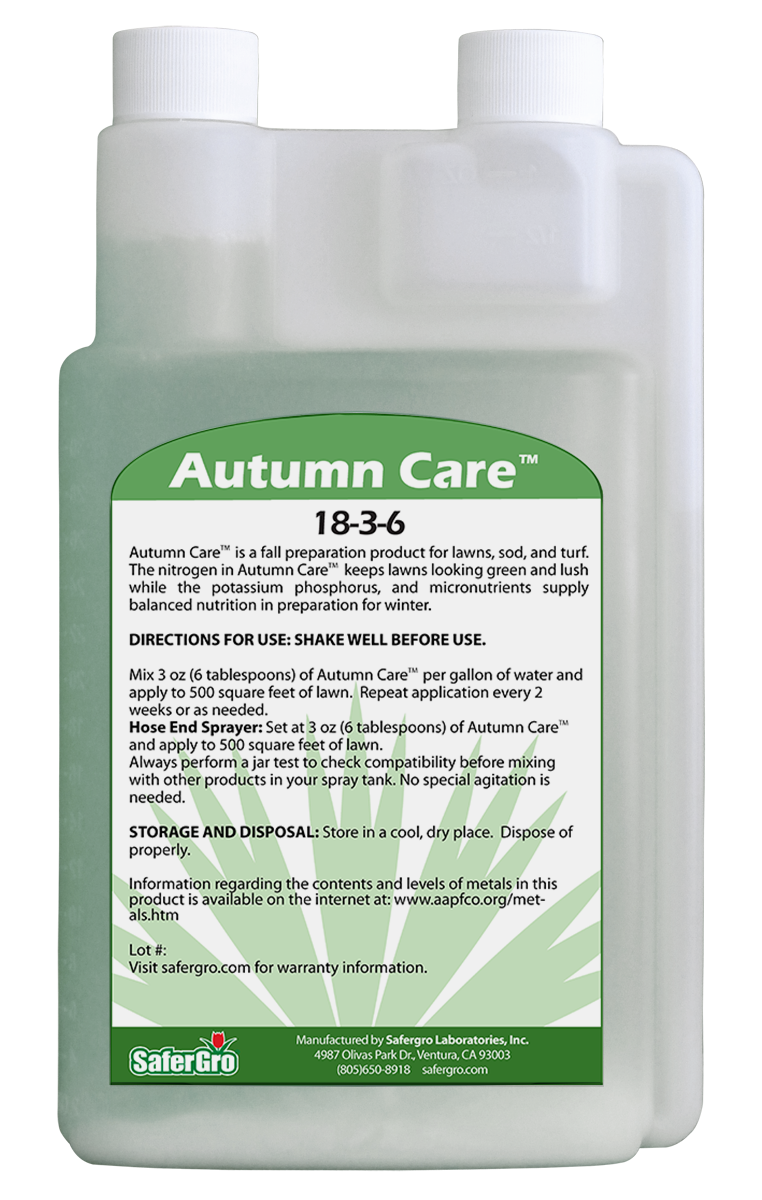 Autumn Care 18-3-6