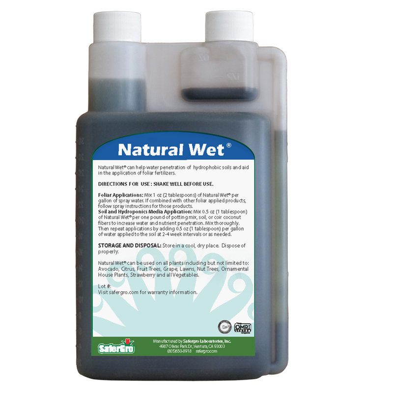 Natural Wet® | Wetting Agent