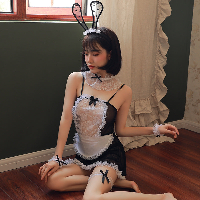 Maid Dress - Sexy Japan Anime Cosplay Costume Set