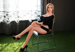 blond korea sex doll tpe