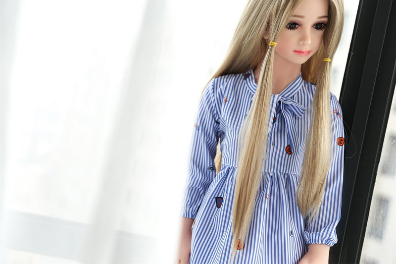 Caitlin - Charming Flat Chest Sex Doll 3ft 3 (100cm)