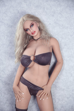 Gia-Blonde Hair Big Breasts Hot Sexy Model 5ft5 (166cm)