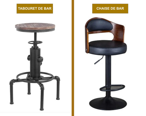 Tabouret ou Chaise de Bar