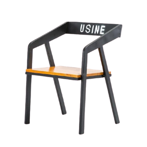 Chaise Industrielle Bois