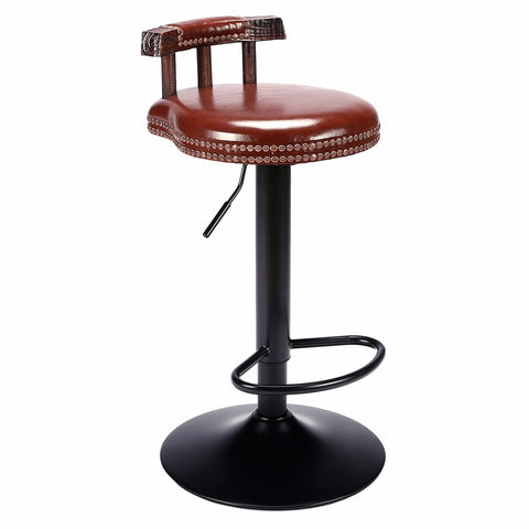 Tabouret Vintage Couleur Marron