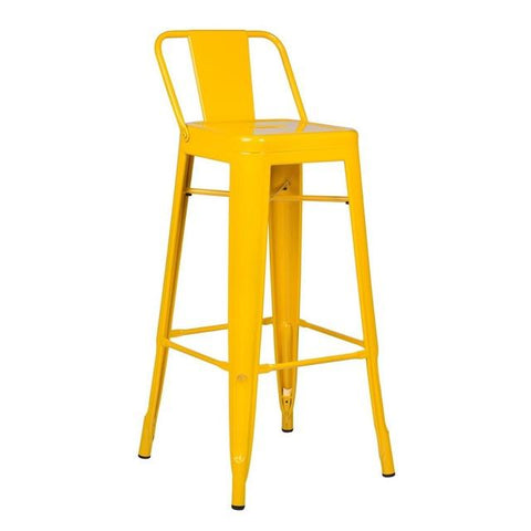 Chaise de Bar Couleur Jaune