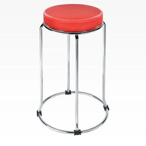 Tabouret de Bar Empilable Rouge