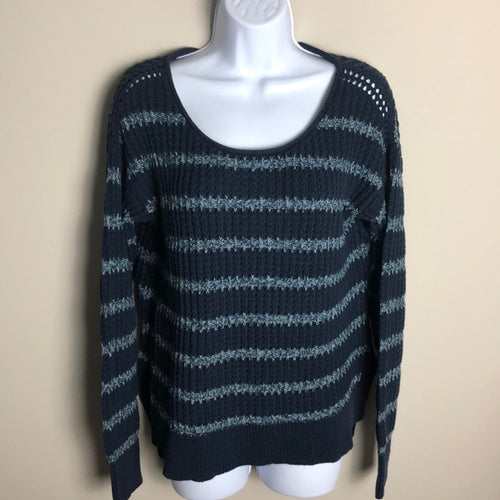 Calvin Klein Jeans Blue Knit Sweater Size M