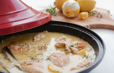 chicken camel milk tagine