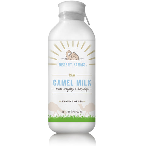 Raw Camel Milk (Frozen) 16oz | Preorders only 2 - 3 weeks waiting list