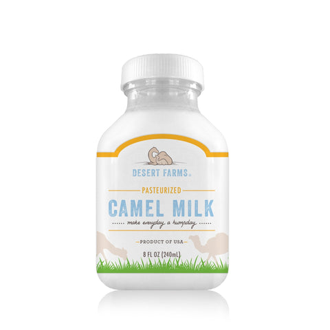 Pasteurized Camel Milk (Fresh) 8oz