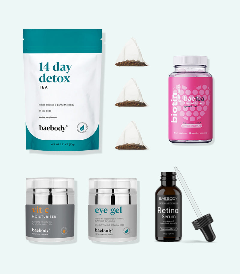 Baebody Starter Kit powerful blends