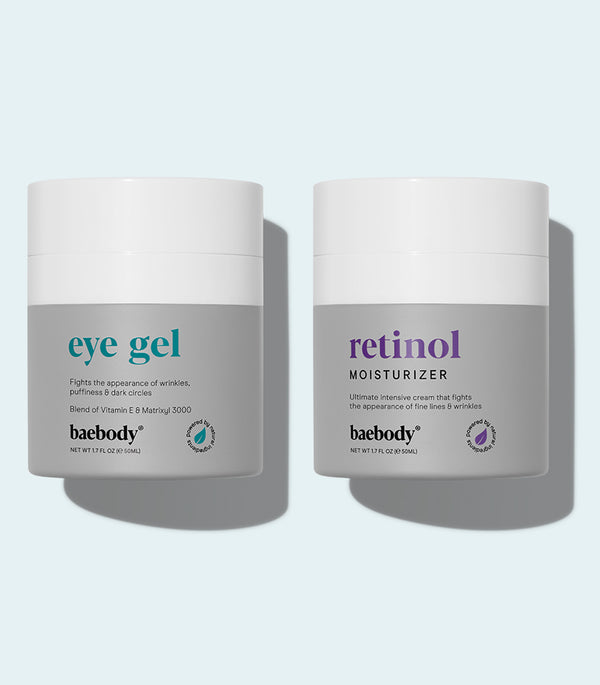 Best Seller Duo eye gel & retinol moisturizer
