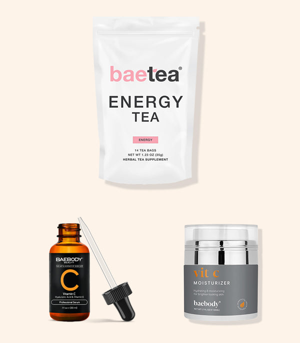 Energize and Brighten Kit Vit C