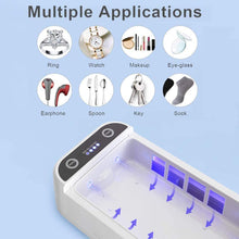 Load image into Gallery viewer, UV Disinfection and Sterilization Box For Phones, Masks, Toys, Jewerly, Pacifiers