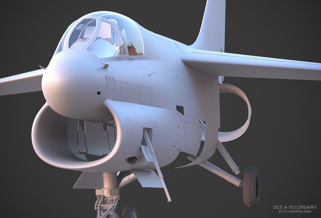 DCS: A-7E Corsair II Development Update
