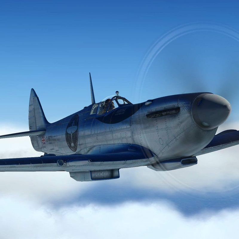 Spitfire L.F. Mk IX by FlyingIron Simulations