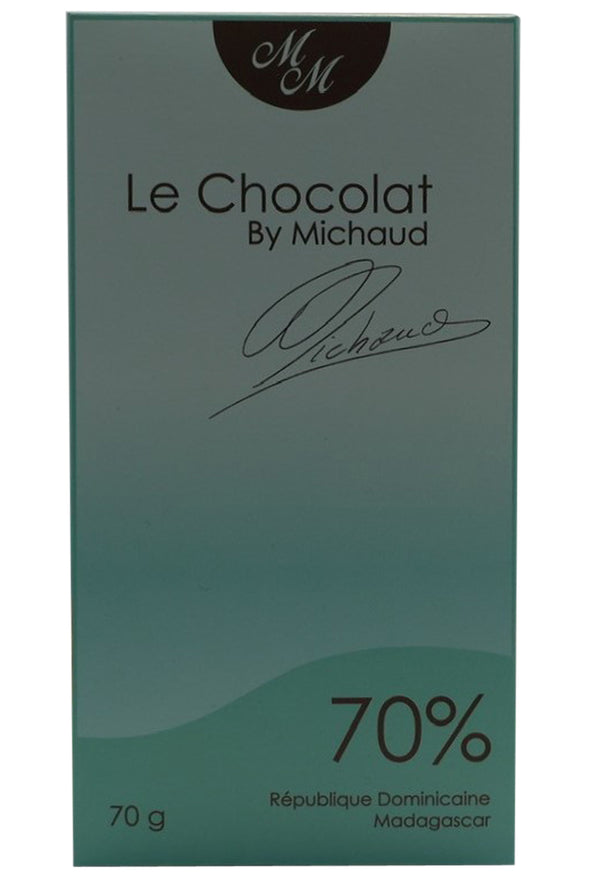 70 gr. bar - Le Chocolat by Michaud